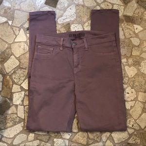J Brand Women's Mauve Skinny Dress Pants 28